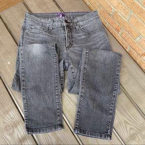 NYDJ black wash skinny jean